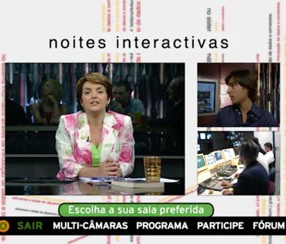 1º Programa Interativo em Portugal